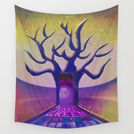 2019 More Green Wall Tapestry