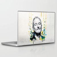 murray Laptop & iPad Skins featuring Bill Murray by Denise Esposito