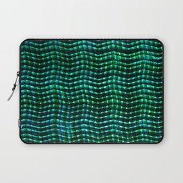 Screened Green Laptop Sleeve