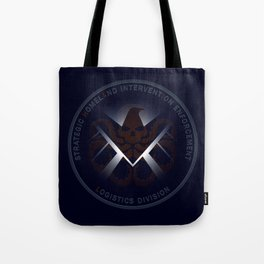 Hidden HYDRA - S.H.I.E.L.D. Logo with Wording Tote Bag