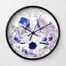 Ocean Gem Tribute Wall Clock