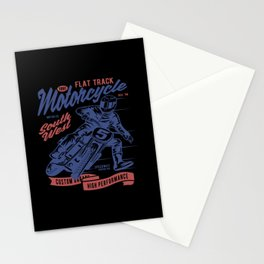 Motocross Motocross Motorcycle Motocross Machine Stationery Cards