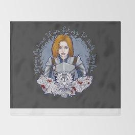 Grey Warden Throw Blanket