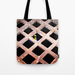 Through the Grate Tote Bag