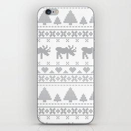 Norvegian Grey iPhone Skin