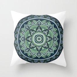 Cool Mandala Throw Pillow