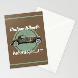 Vintage Wheels - Packard Speedster Stationery Cards