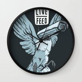 Live Feed Wall Clock