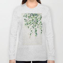Eucalyptus Watercolor Long Sleeve T-shirt