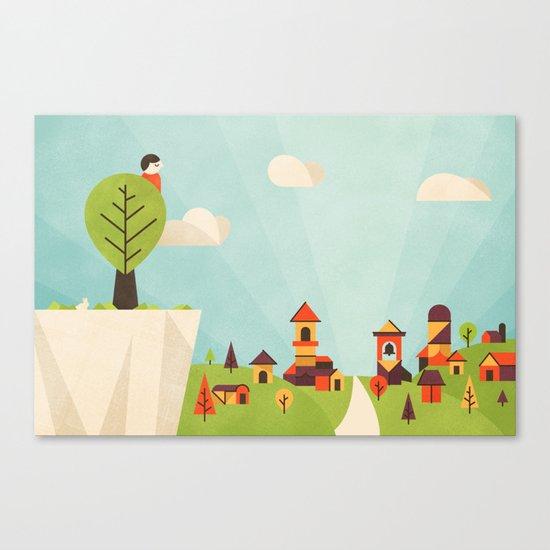 Zacchaeus (by Dominic Flask) Canvas Print