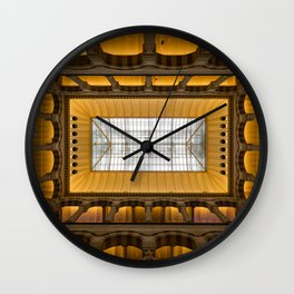 Amsterdam Shopping Center Lobby Architecture Wall Clock