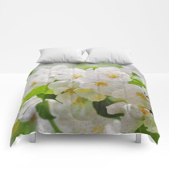 Sakura Blossoms 02 Comforters