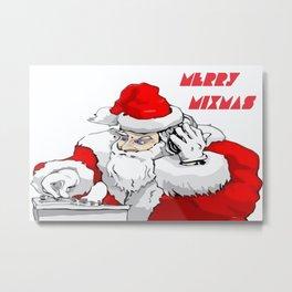 Merry Mixmas  Metal Print