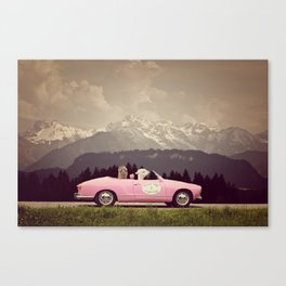 NEVER STOP EXPLORING VII Canvas Print