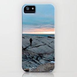 Halifax Sunset iPhone Case
