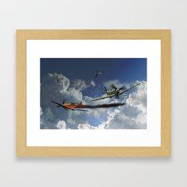 Aces High - Spitfire Framed Art Print