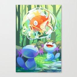Captured! Canvas Print