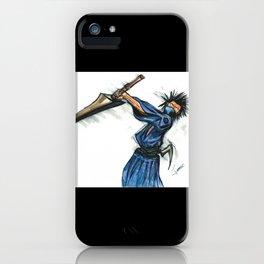 Magatsu, Samurai by Lebeau iPhone Case