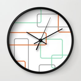 Mod Box 02 Wall Clock