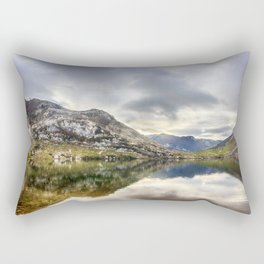 Lake Enol Rectangular Pillow