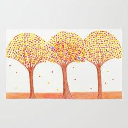 Fall Trees Rug