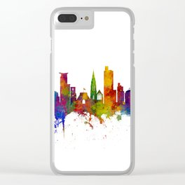 Southampton England Skyline Clear iPhone Case