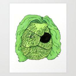 Kurt Brussel Art Print