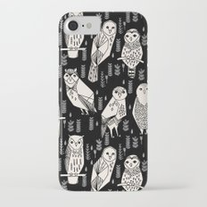 Parliament of Owls by Andrea Lauren - B&W Slim Case iPhone 7