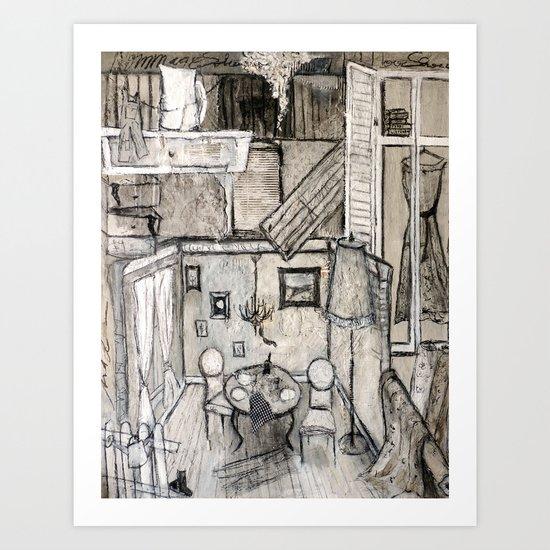 Artdeco Art Print
