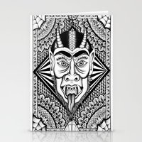 devil Stationery Cards featuring Devil by Cady Bogart