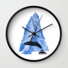 The Living Iceberg Wall Clock