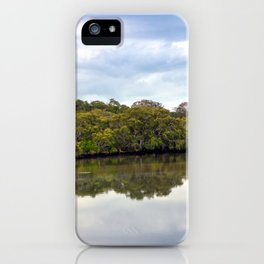 Wrights Creek iPhone Case