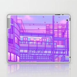 Cosmic City Train Laptop & iPad Skin