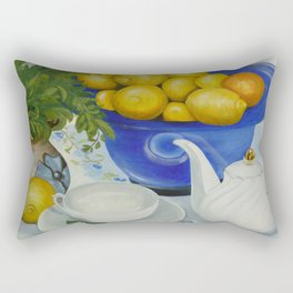 Lemon Tea Rectangular Pillow