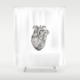 Heart on my Sleeve Shower Curtain