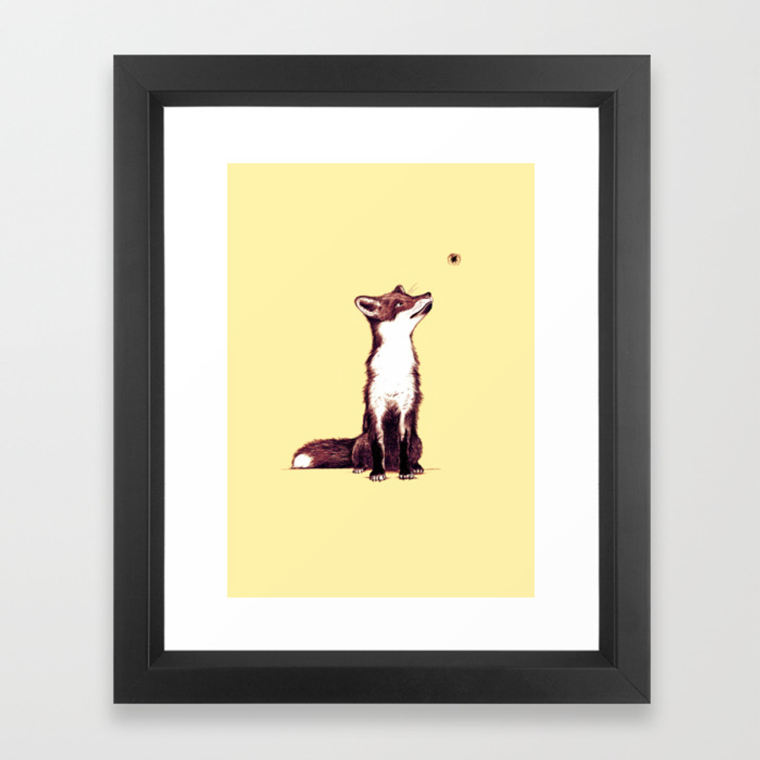 Fun framed art prints society6 for Wall art prints