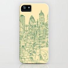 London! Cream Slim Case iPhone (5, 5s)