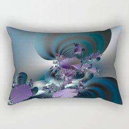 Purple leaves on radar of tranquility Rectangular Pillow