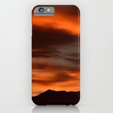 SW Orange Mountain Sunrise iPhone 6s Slim Case
