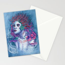 Gaia Of The Deep Stationery Cards