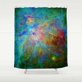 Stars Implode Shower Curtain