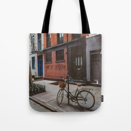 New York's West Village Tote Bag