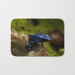 Blue Frog Bath Mat