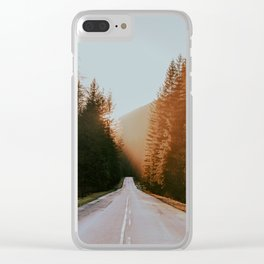 Golden Ears Clear iPhone Case