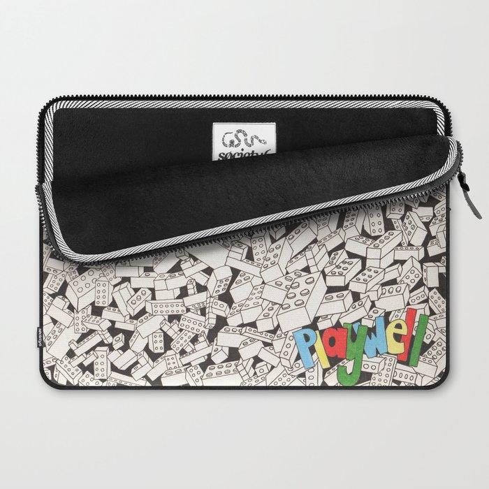 LEGO: Playwell.  Laptop Sleeve