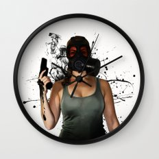Bellatrix - Horizontal Wall Clock