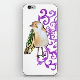 a dreaming bird iPhone Skin