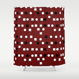 Pedigree Analysis - X-linked Recessive Shower Curtain