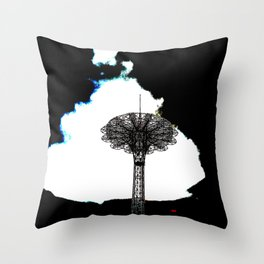 Hard-Boiled Throw Pillow