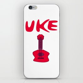 Uke on! iPhone Skin